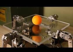 Enlace a Un robot con control absoluto del rebote de una pelota