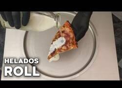 Enlace a Cómo preparar helado de pizza