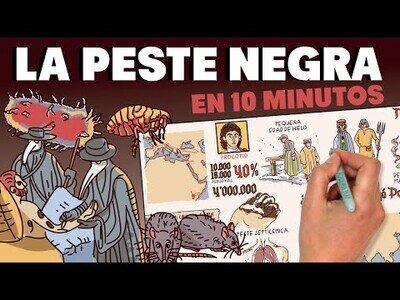 La historia de la peste negra
