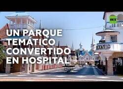 Enlace a Habilitan un parque de atracciones como hospital en Argentina