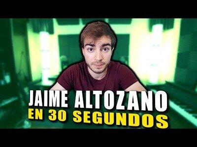 Zorman resume a Jaime Altozano en 30 segundos