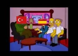 Enlace a Los Simpson ya predijeron los respiradores destinados a España que se iba a quedar Turquía