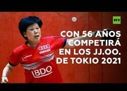 Enlace a Se prepara para los Juegos Olímpicos de 2021 con 56 años