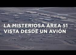 Enlace a Un piloto toma imágenes aéreas del Area 51