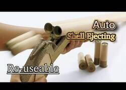 Enlace a Cómo construir una escopeta hecha de cartón