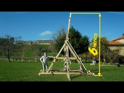 Construyendo una catapulta medieval