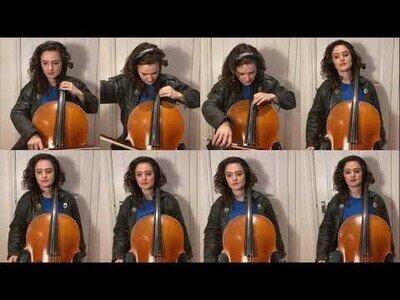 La BSO de El Coche Fantástico interpretada por 8 violonchelos