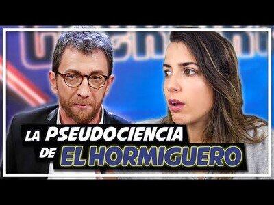 Desmontando el discurso científico de Pablo Motos en El Hormiguero