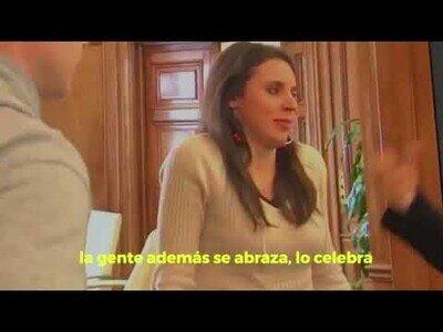 Irene Montero pillada admitiendo la gravedad del coronavirus antes del 8M