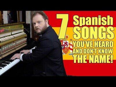 Interpretando 7 piezas de música clásica de origen español