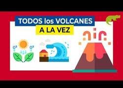 Enlace a ¿Qué pasaría si todos los volcanes entraran en erupción a la vez?