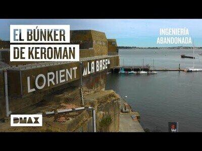La fortaleza para submarinos nazis en la Bretaña francesa