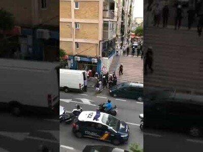 Cinco policias heridos en una reyerta en Requena, Valencia