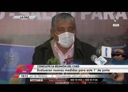 Enlace a Ministro boliviano explica la crisis sanitaria con muñecos de Thanos y los Vengadores