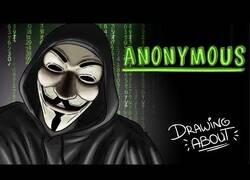 Enlace a El 'Draw My Life' del fenómeno Anonymous