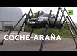 Enlace a Un inventor ruso diseña un prototipo de coche arácnido