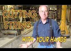 Enlace a Cómo cortar una cuerda con la única ayuda de tus manos