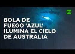 Enlace a Avistan un 'meteorito azul' en el cielo de Australia
