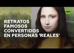Enlace a Convierten obras de arte en personas físicas reales