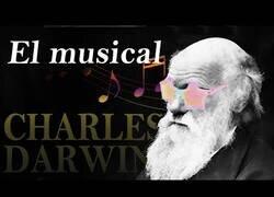 Enlace a La biografía de Darwin contada con la canción del opening de Digimon