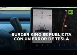 Enlace a Burger King aprovecha un error en los coches Tesla para hacer publicidad