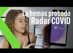 Enlace a Probando Radar Covid: la app que detecta positivos por coronavirus en tu zona