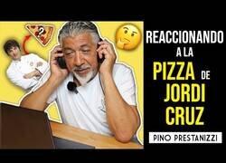 Enlace a Pino Prestanizzi reacciona a una pizza hecha por Jordi Cruz