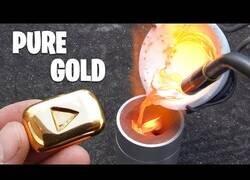 Enlace a Creando un botón de oro de YouTube en miniatura