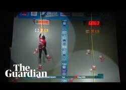 Enlace a 'Spiderwoman' bate el récord mundial de velocidad en escalada