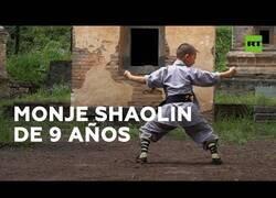 Enlace a Ai Ke, el monje shaolin de 9 años