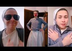 Enlace a Una monja se hace viral por su vídeos en TikTok