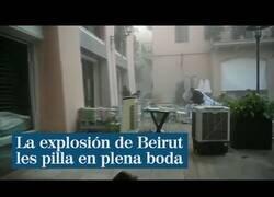 Enlace a Cuando la explosión de Beirut se produce durante la grabación de tu vídeo de boda