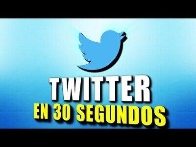 Twitter en 30 segundos