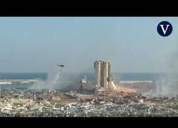 Enlace a Así ha quedado el puerto de beirut tras las explosiones