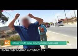 Enlace a Agresión a un reportero de televisión en Murcia
