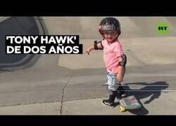 Enlace a Un 'skater' de tan solo 2 años