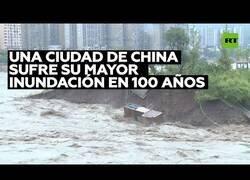 Enlace a La ciudad china de Yaan sufre su mayor inundación en 100 años