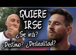 Enlace a Maldini opina sobre la noticia más impactante del año: Messi quiere irse del Barça