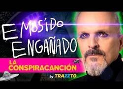 Enlace a Parodian la conspiración de Miguel Bosé con una de sus canciones