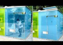Enlace a Estos son los curiosos baños públicos que puedes encontrar en la ciudad de Shibuya (Japón)