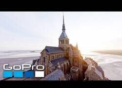 Enlace a El Monte Saint-Michel a vista de dron es una auténtica locura