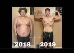 Enlace a Así ha logrado Omar Taher su gran cambio en un año para perder 100 kilos