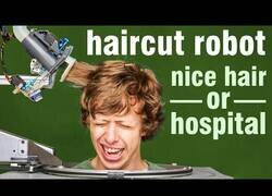 Enlace a Inventan el robot que podría dejar a los peluqueros sin trabajo en un futuro