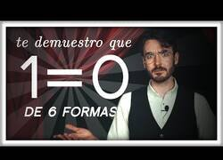 Enlace a Demostrando que 1=0 y otras formas de hacer explotar tu mente