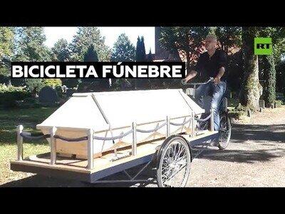 Un alemán crea la 'bicicleta fúnebre'