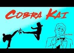 Enlace a Barney lo predijo lo que pasaría en Cobra Kai