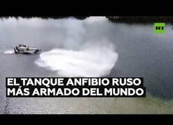 Enlace a Rusia muestra el tanque amfibio más armado del mundo
