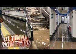Enlace a Increíbles inundaciones en el metro de Madrid