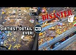 Enlace a Limpiando a fondo el coche más sucio del mundo