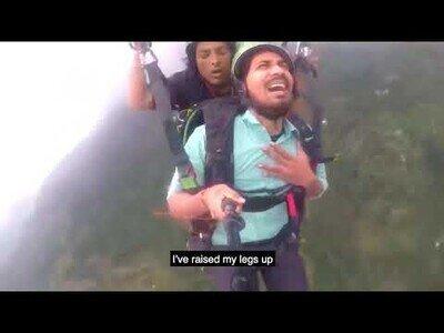 Sé de alguien que no volverá a practicar paracaidismo...
